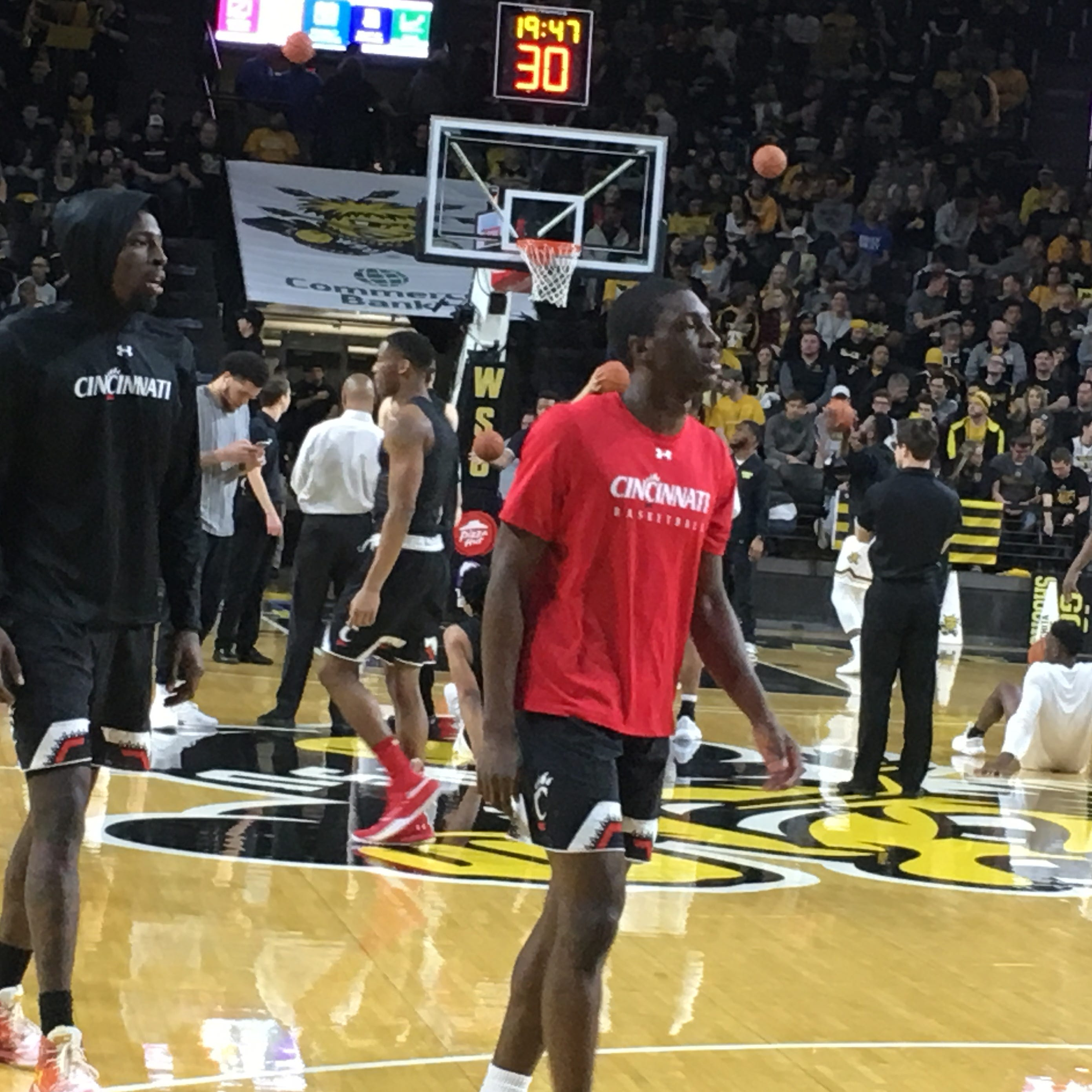 UC pulls away from Wichita State with late run, 66-55