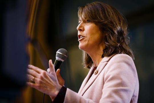 U.S. Rep. Cindy Axne, Third District in Iowa.