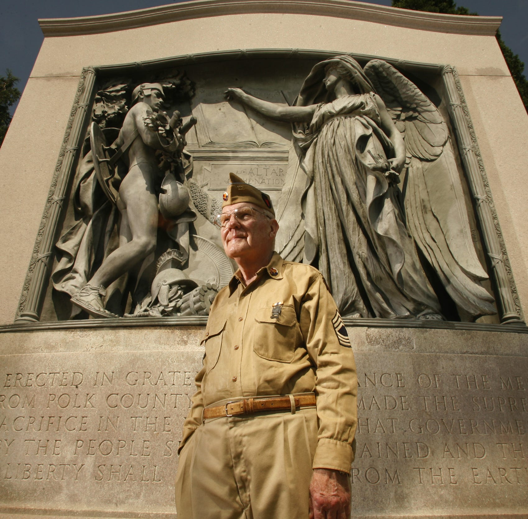Gerald LaBlanc, crusader for Iowa's memorials and monuments, dies