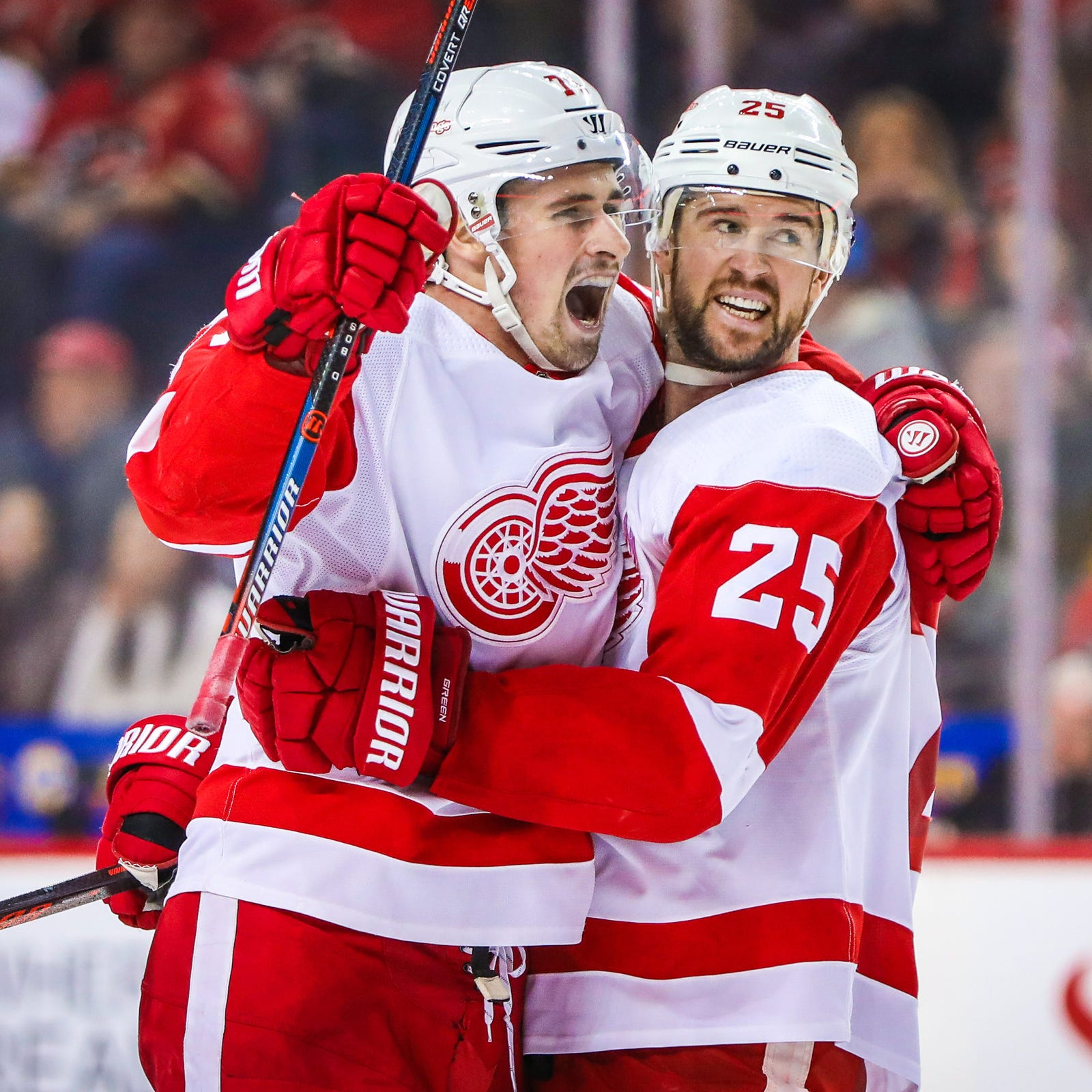 Detroit Red Wings' Dylan Larkin is 'the number one leader right now'