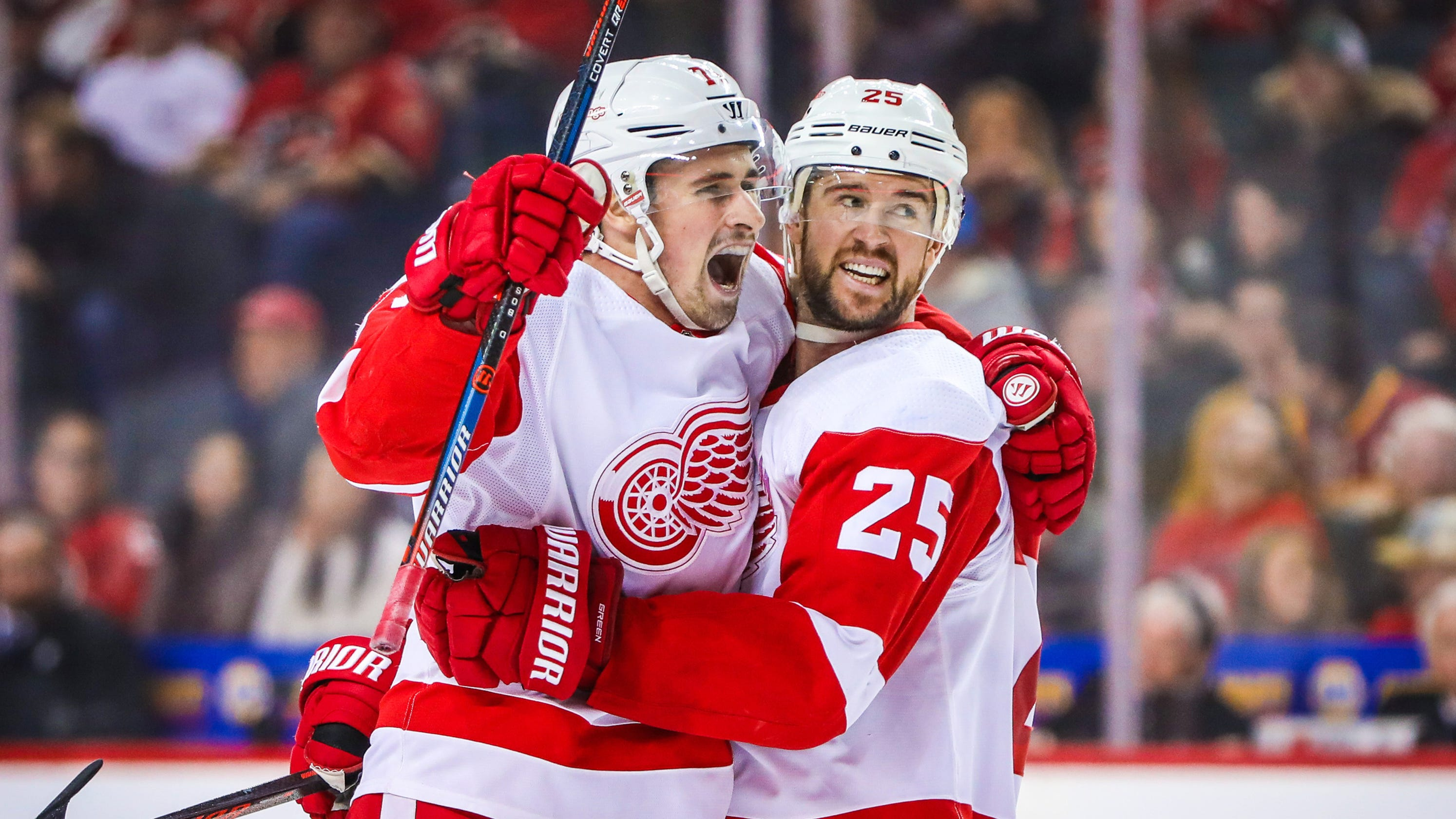 b69bf949103 Detroit Red Wings without Dylan Larkin
