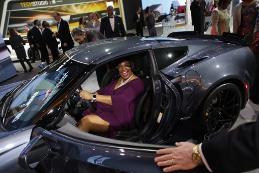 Detroit Auto Show Charity Preview Protests And Partying