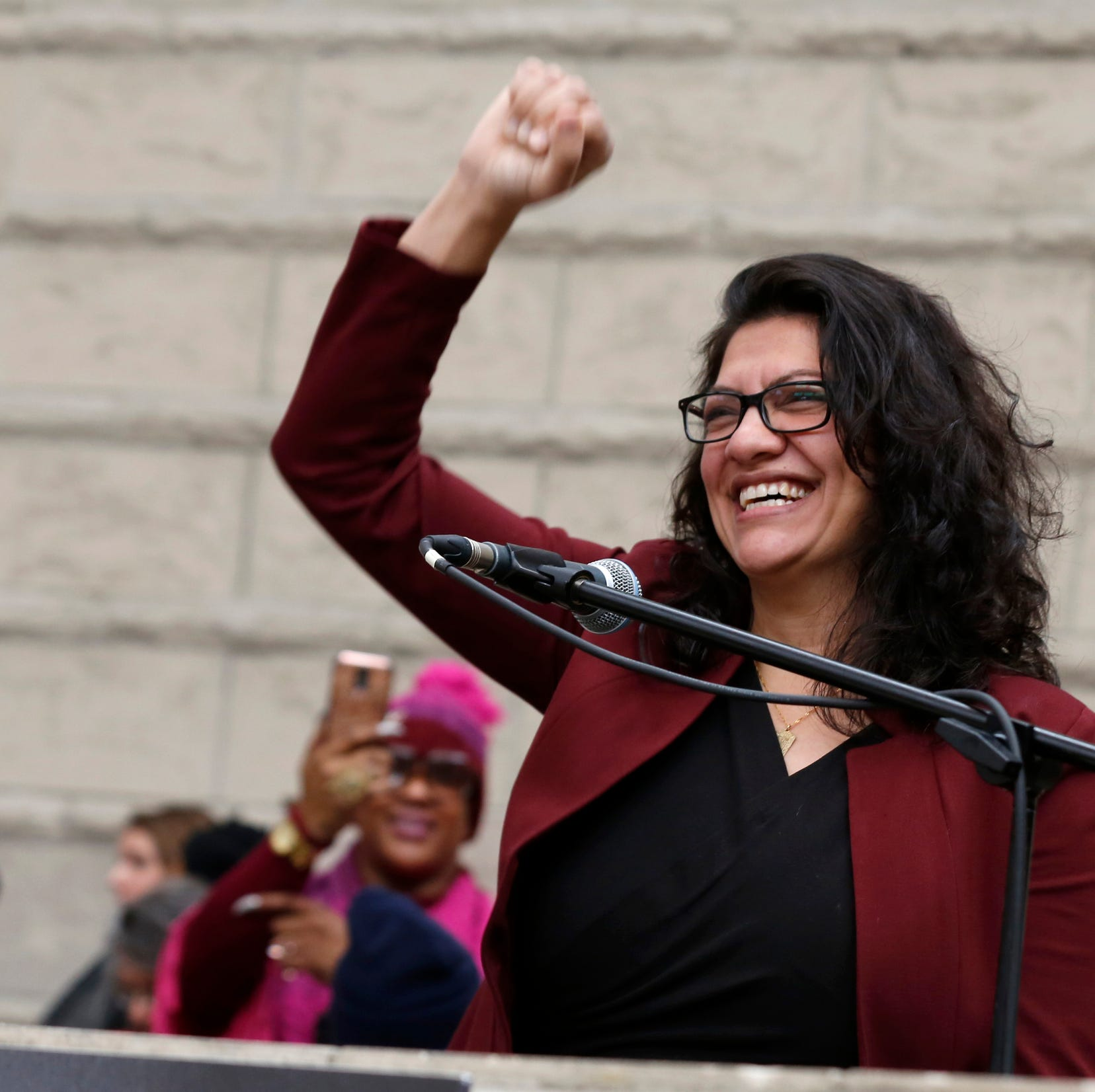 President Trump slams Rep. Rashida Tlaib for Holocaust comments