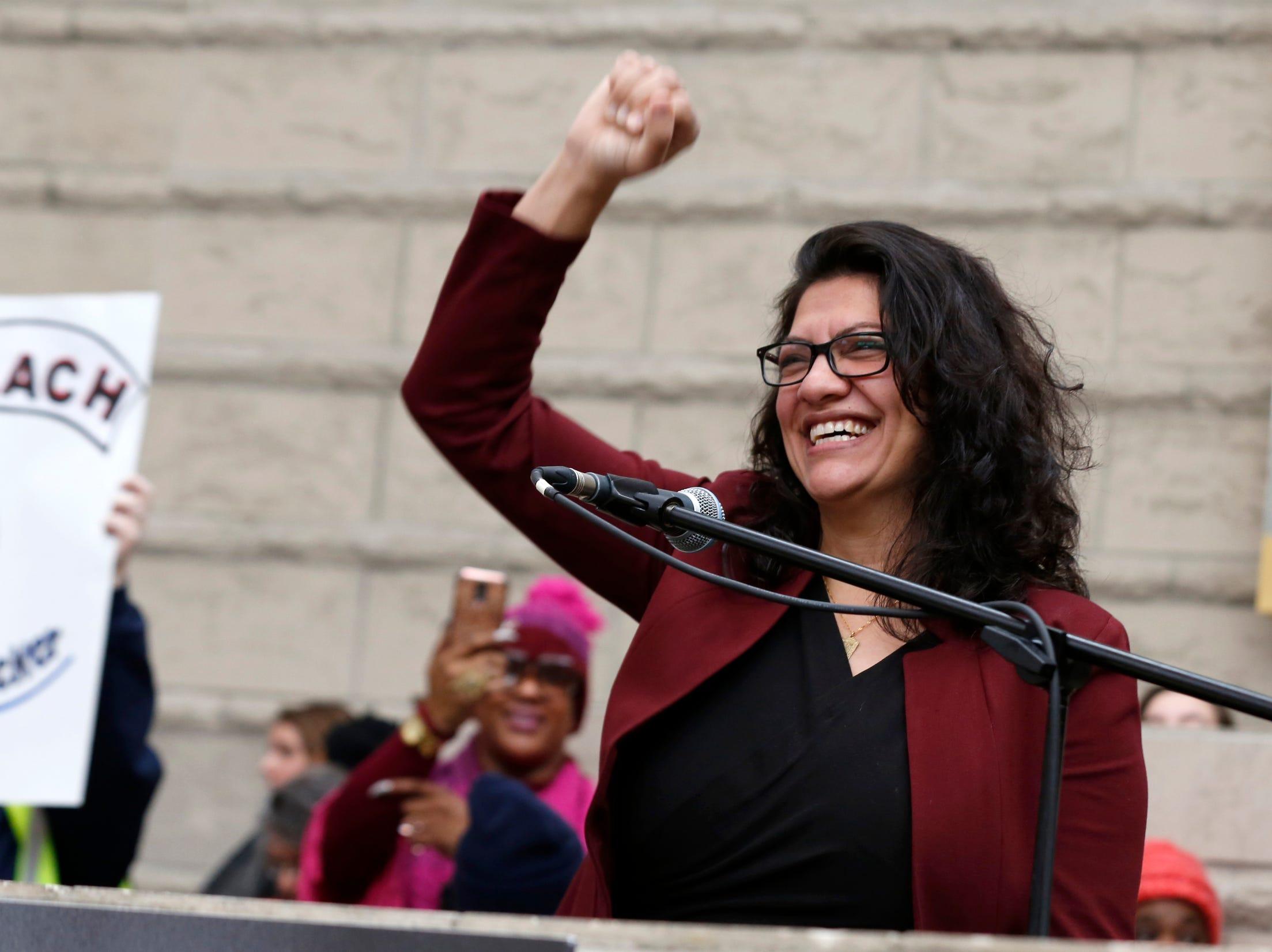 Detroit's Rashida Tlaib says 'right-wing media' targeting her sister