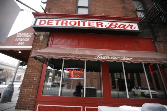 The Detroiter Bar.