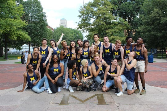 Musical theater students from U-M, which has one of the most selective programs in the country.