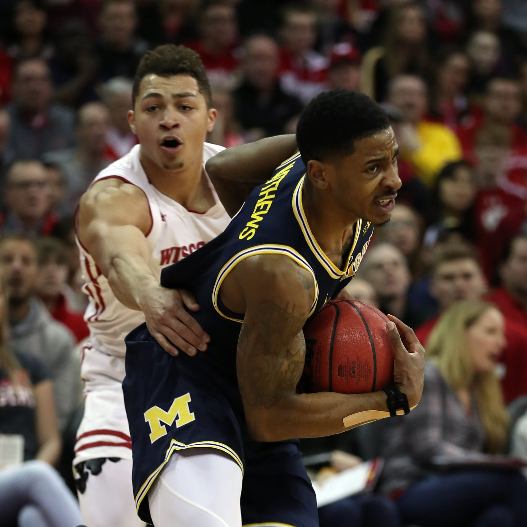 Michigan basketball's learning curve begins with Brazdeikis, Matthews