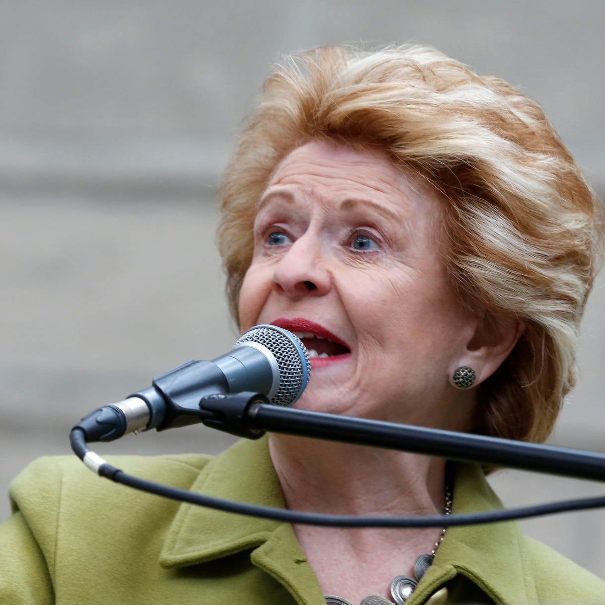 Debbie Stabenow supported border fence in the past, why not now?