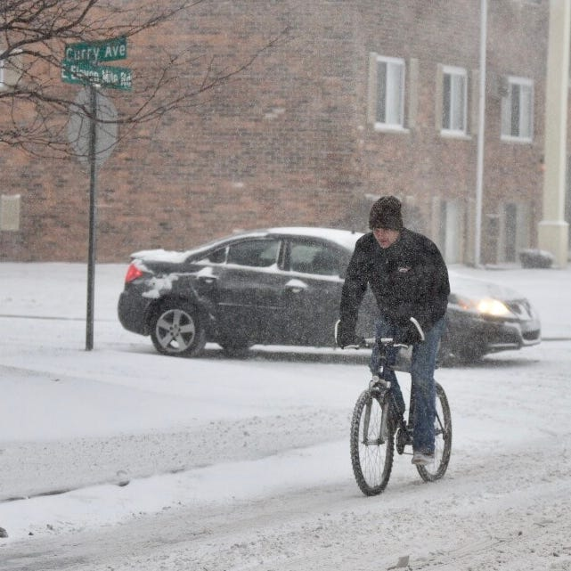 After snowfall, temps to drop in Metro Detroit