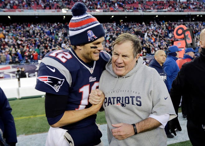 The Patriots have dominated the AFC for nearly two decades and the coach-quarterback combination of Bill Belichick and Tom Brady will be playing in their eighth conference title game Sunday when New England visits the Chiefs at frigid, hostile Arrowhead Stadium.