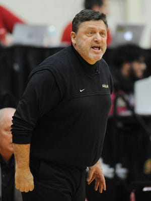 """""""I'm extremely excited for this series to continue,"""" Oakland Golden Grizzlies head coach Greg Kampe says."""