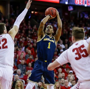 Charles Matthews has only seven 3-point attempts in Michigan's last six games.