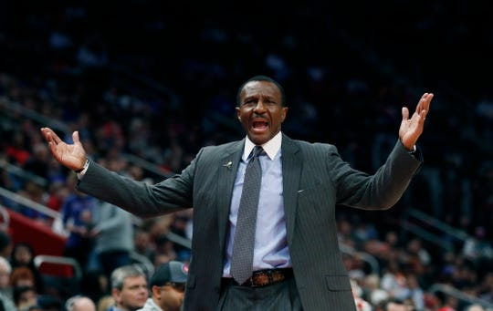"""You never feel good. I wouldn't use that word, but this is where we have to make hay,"" Pistons coach Dwane Casey says."