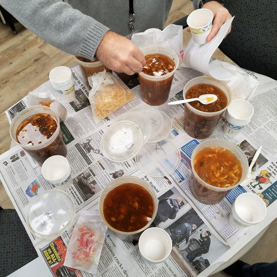 Hot and sour soups from 11 local Chinese restaurants (six pictured) went head to head in our blind tasting.