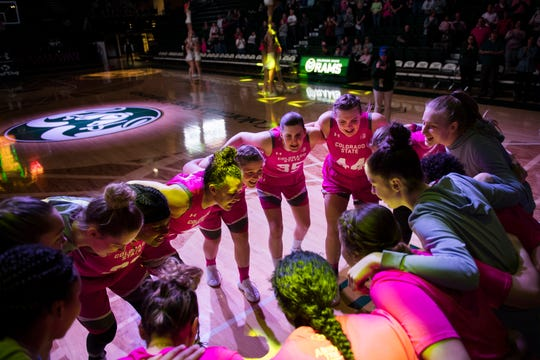 The CSU women's basketball team opens the Mountain West tournament at 8 p.m. Sunday against Utah State in Las Vegas.