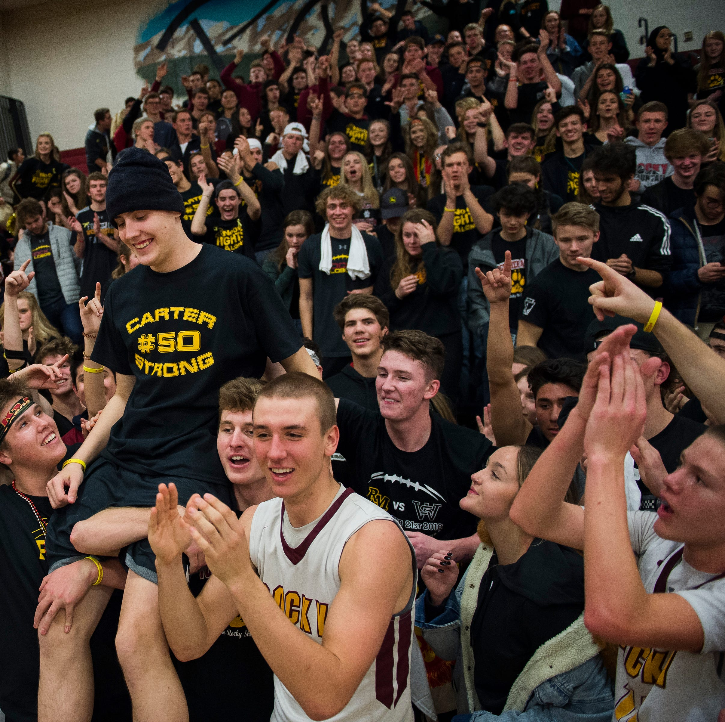 Community support overwhelms Rocky Mountain basketball player battling cancer