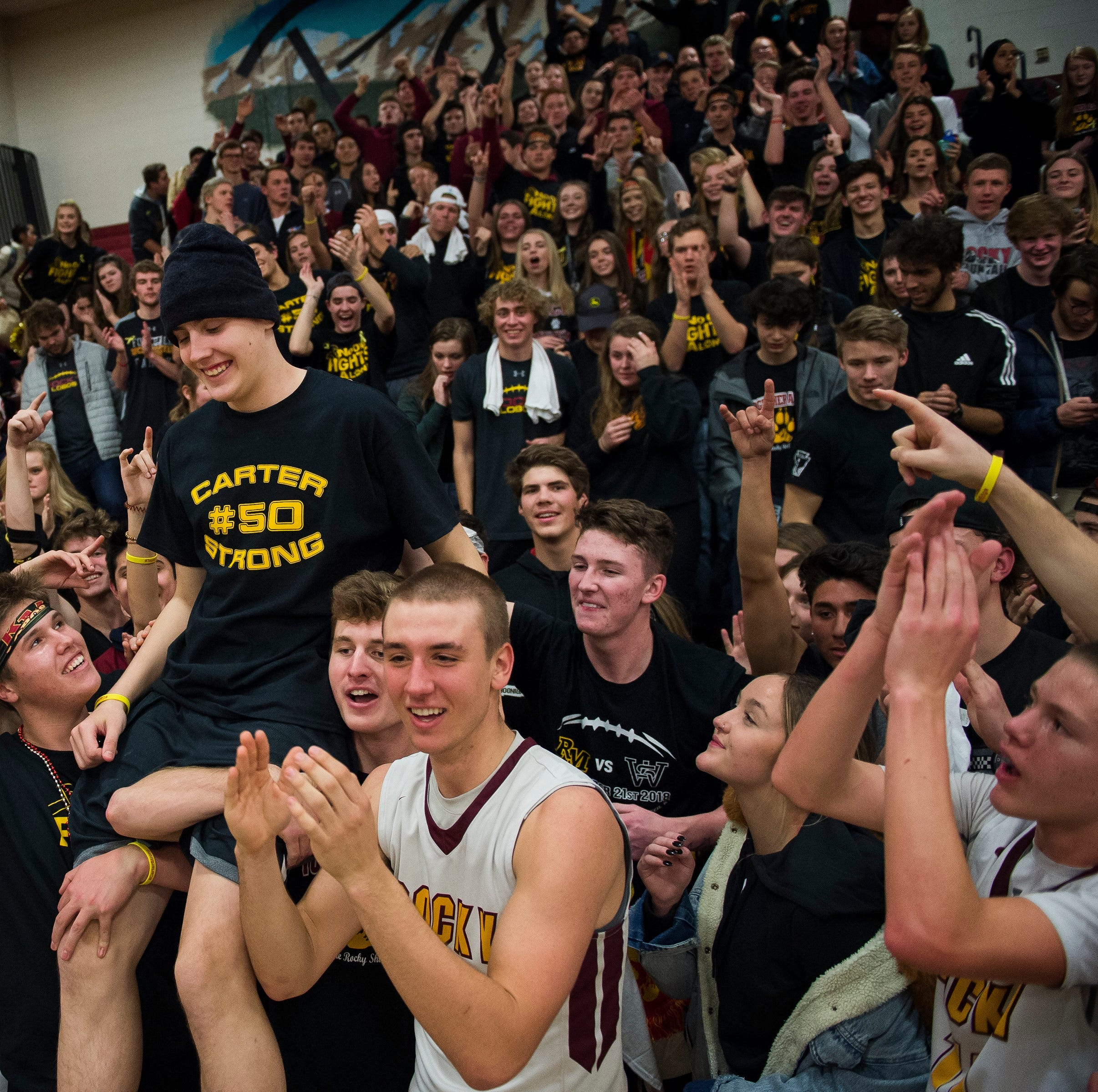 Rocky Mountain beats rival Fort Collins for teammate battling bone cancer