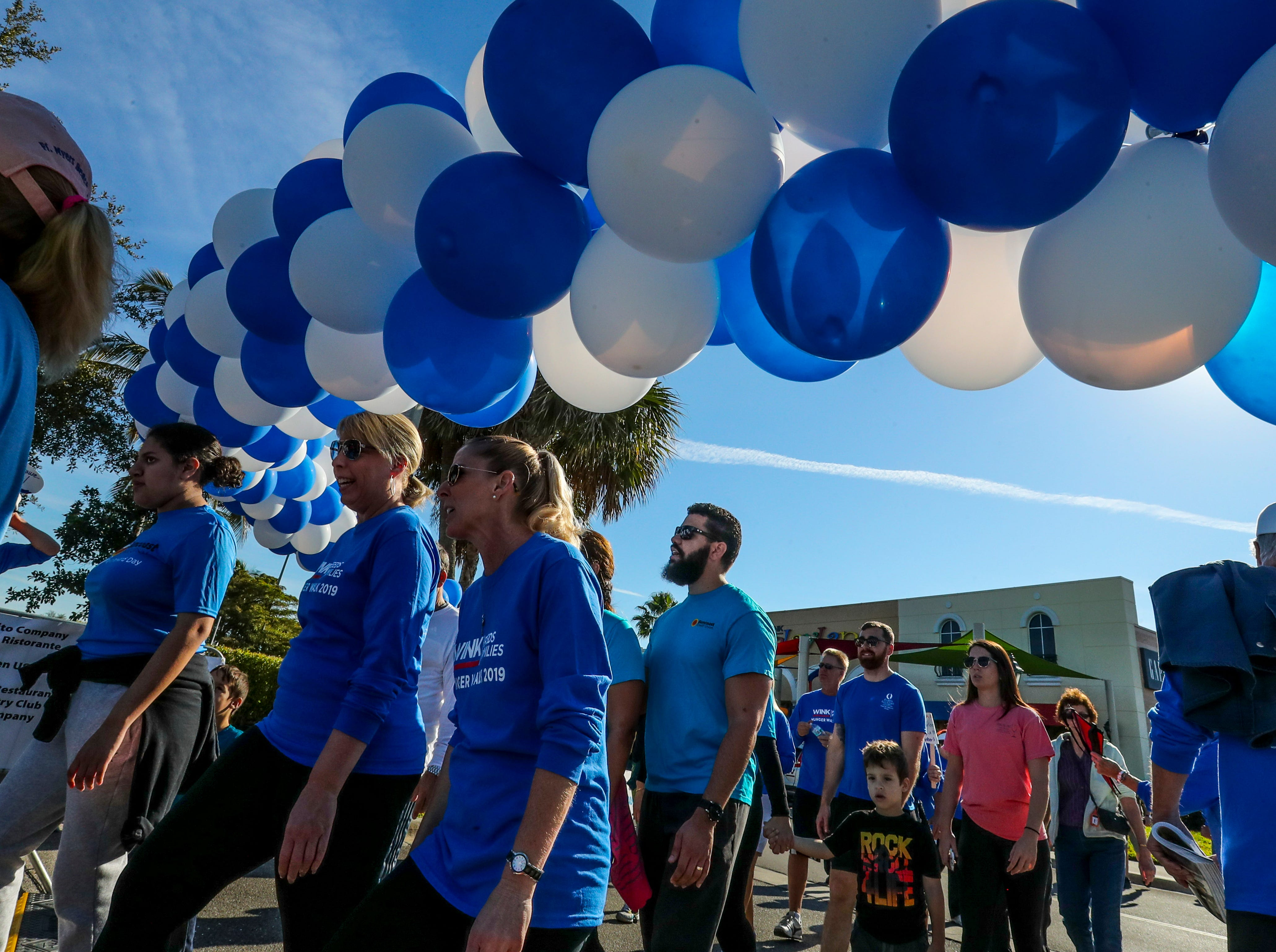 The 11th annual WINK Feeds Family hunger walk that supports the Harry Chapin Food Bank of Southwest Florida went off Saturday, January 19, 2019. The walk was held at Miromar Outlets in Estero, FL, and they did a 2 mile walk around the mall.