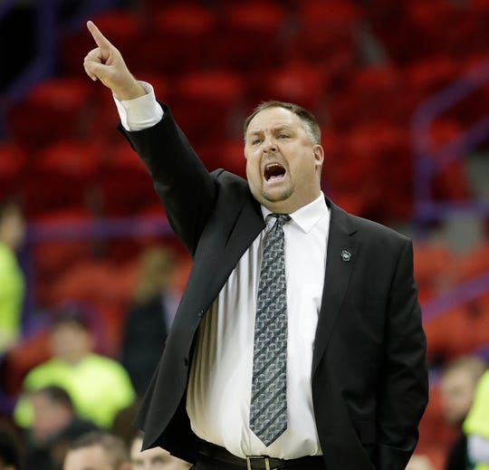 UWGB coach Linc Darner has his team in fourth place in the Horizon League with five games remaining.