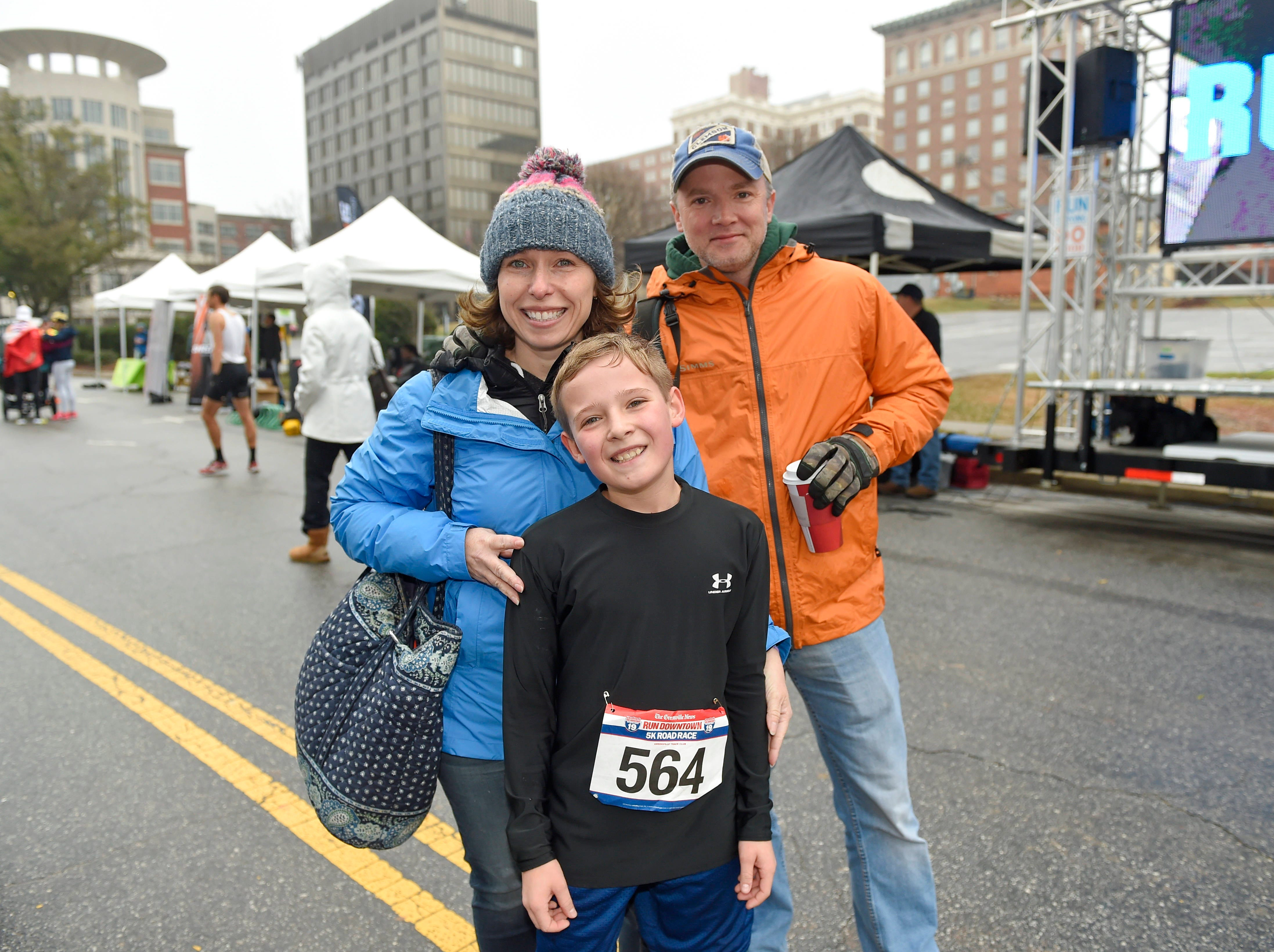 The annual Greenville News Run Downtown 5K was held Saturday, Jan. 19, 2019.