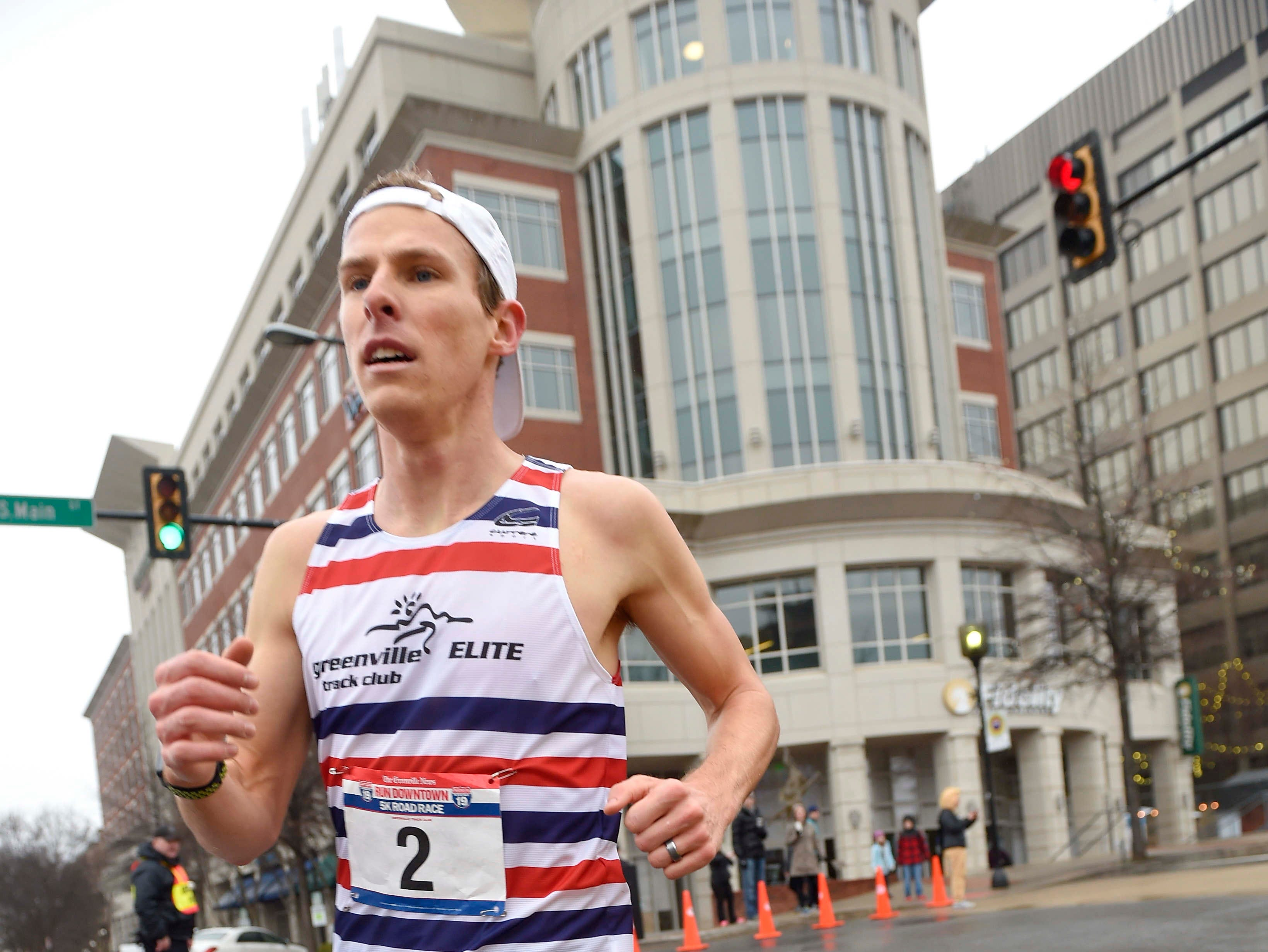 Joseph Niemiec won the men's division with a time of 14:52. The annual Greenville News Run Downtown 5K was held Saturday, Jan. 19, 2019.