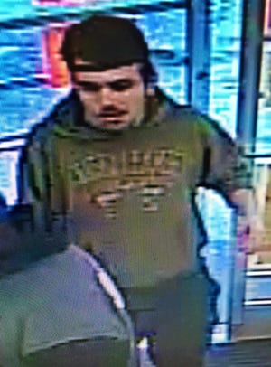 The Greenville Police Department is in search of this man in connection to attempted shoplifting at a Family Dollar store.