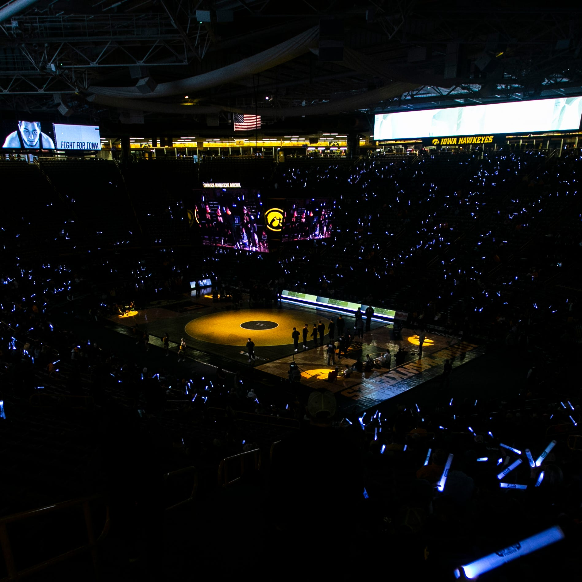 Iowa wrestling leads nation in home attendance for 13th straight season