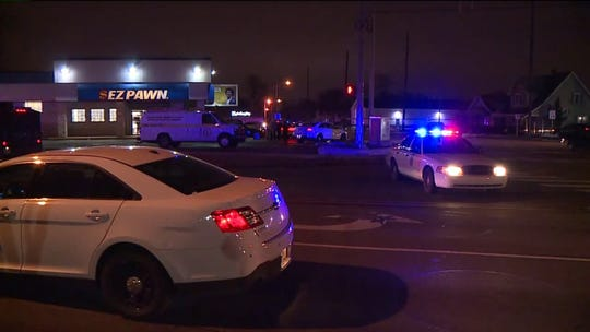 Officer-involved shooting occurred outside near a west-side pawn shop on Friday, Jan. 18, 2019.