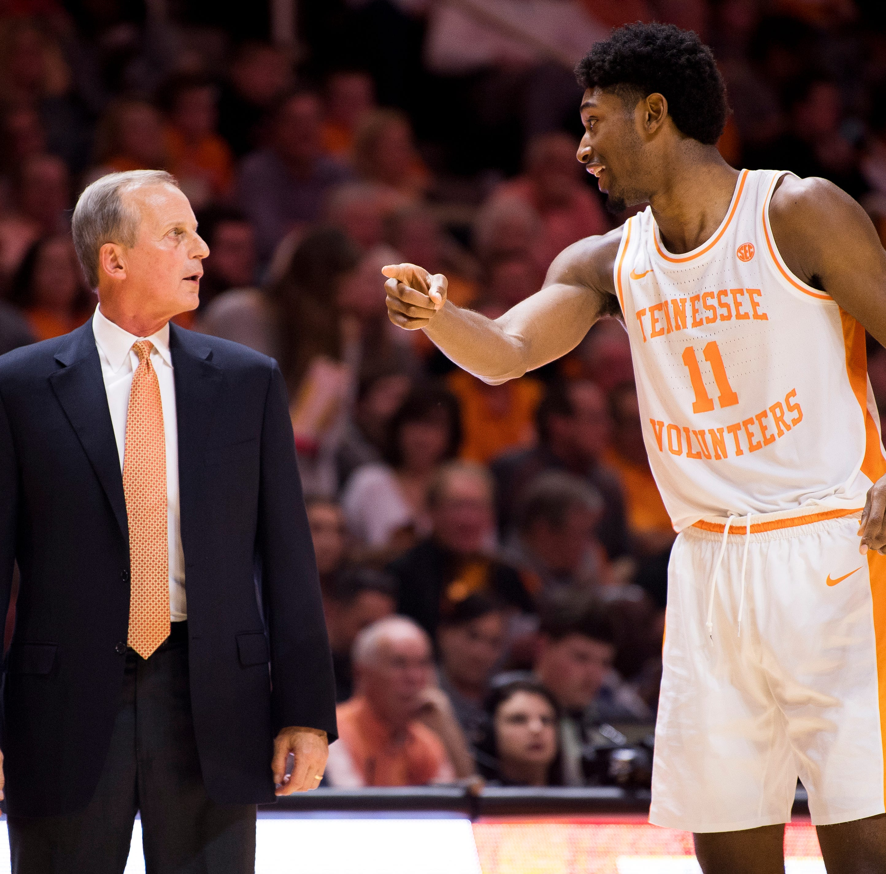 Why Rick Barnes isn't making a big deal of UT Vols basketball's No. 1 ranking