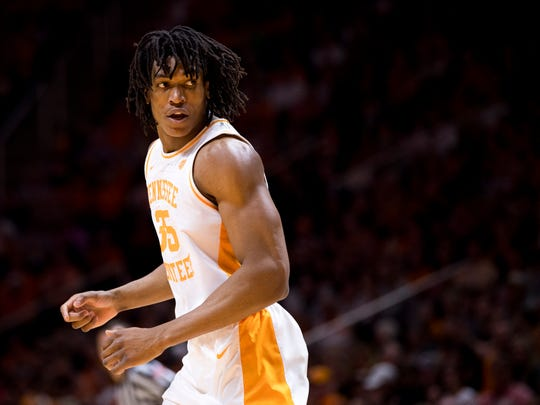 Tennessee's Yves Pons started 13 games this season but has come off the bench in the past three.