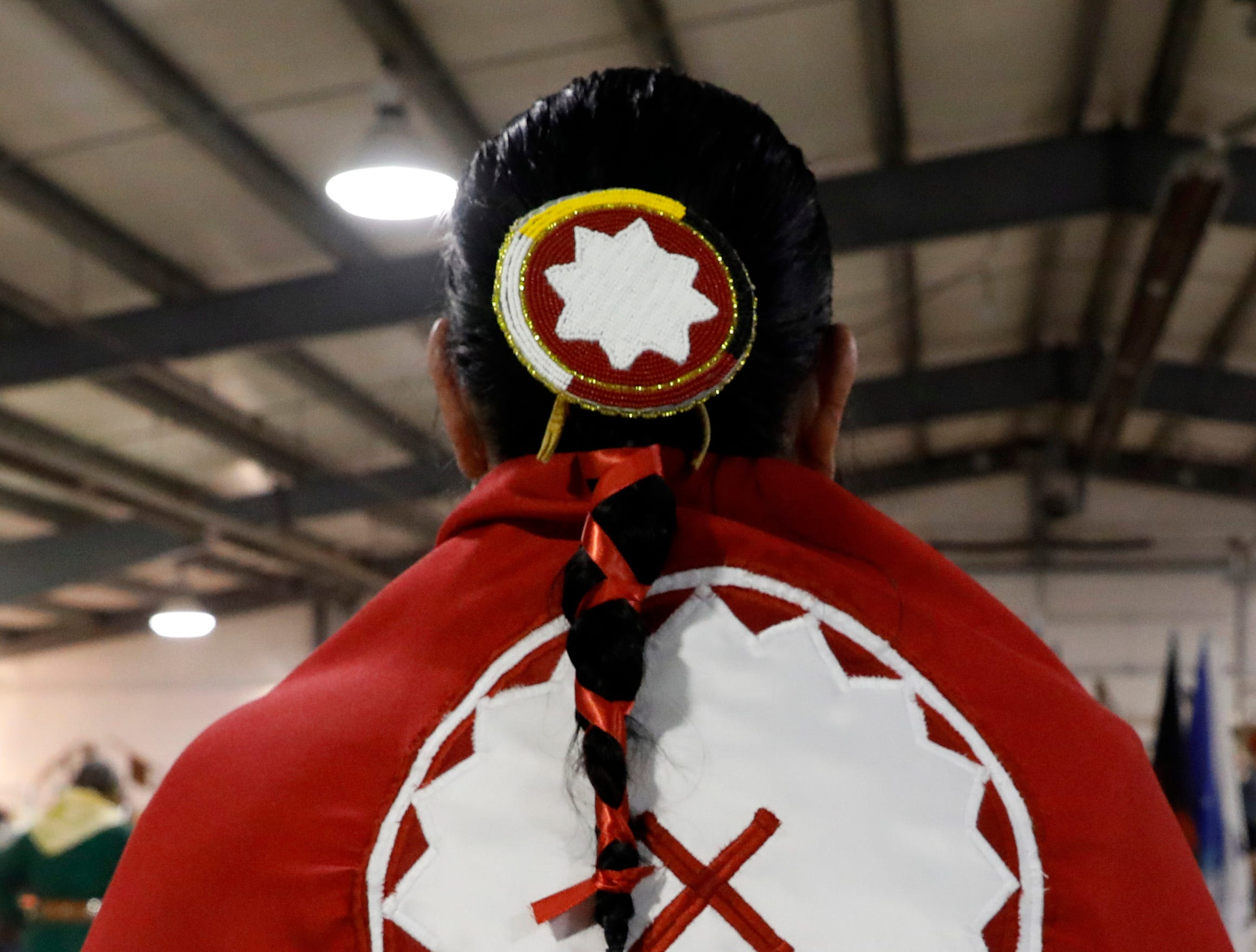 Hundreds of people attended the 15th annual Honoring Traditions: An Eastern Woodland Native American Celebration Saturday, Jan. 19, 2019, at the Fairfield County Fairgrounds in Lancaster.