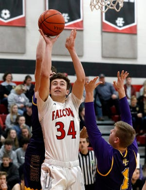Fairfield Union senior Huston Harrah was named Division II second team All-Ohio by the Ohio Prep Sportswriter's Association.