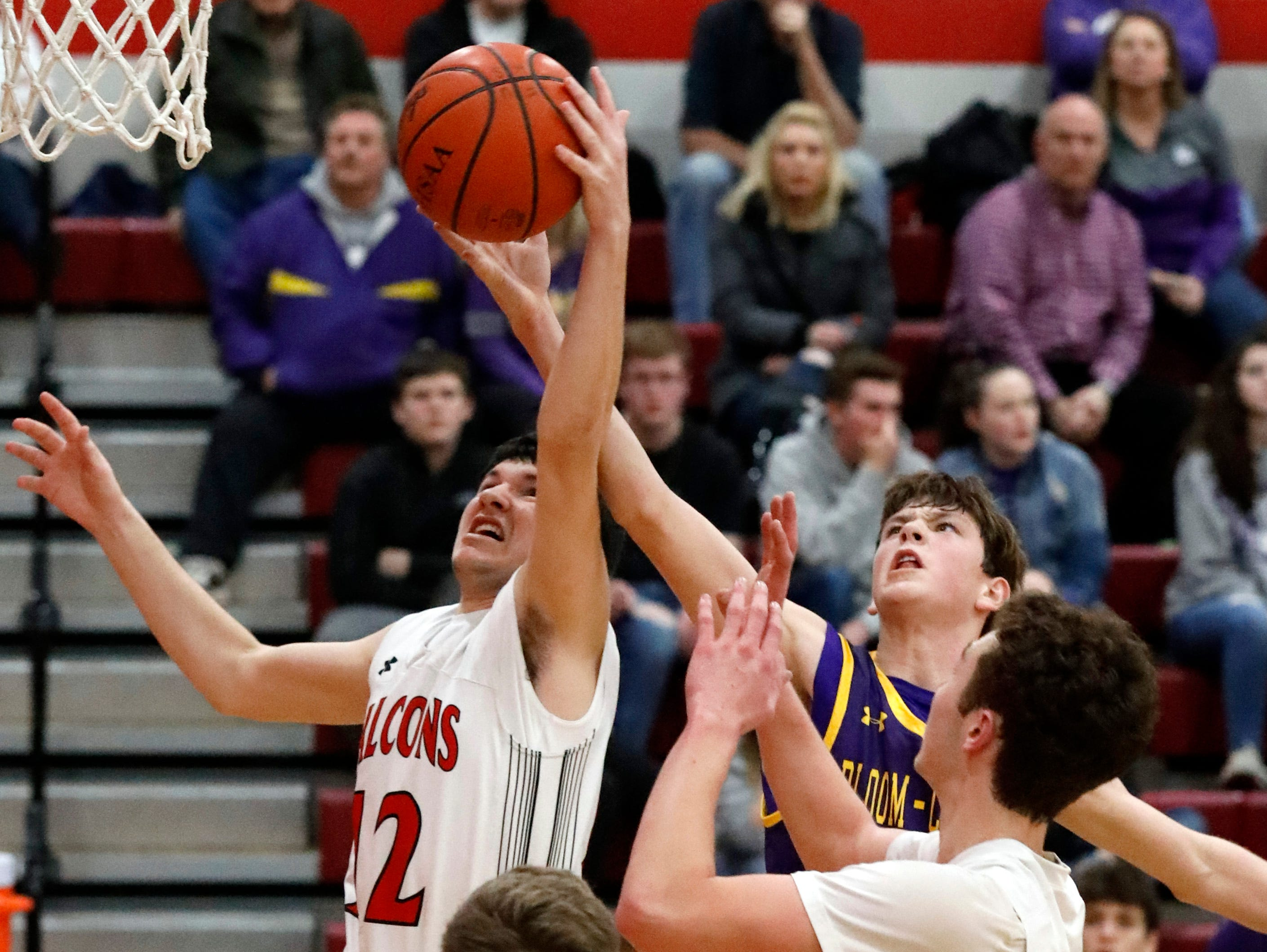 Fairfield Union defeated Bloom-Carroll 42-31 Friday night, Jan. 18, 2019, at Fairfield Union High School in Rushville.