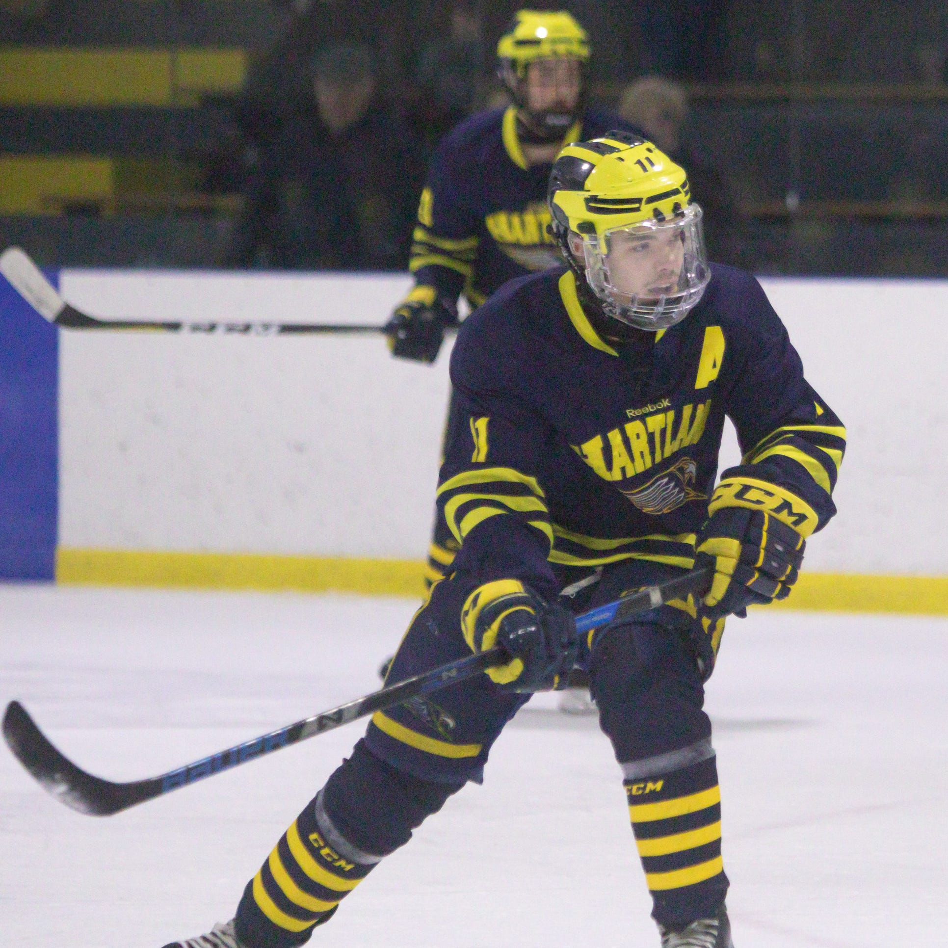 After rout of No. 6 Plymouth, can Hartland's hockey team be stopped in Division 2?