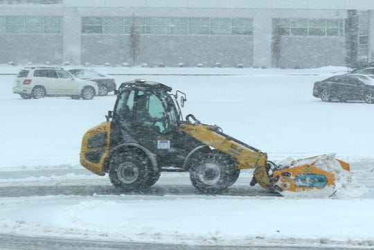 Winter storm Harper dropped several inches of snow in the Richland County area on Saturday.