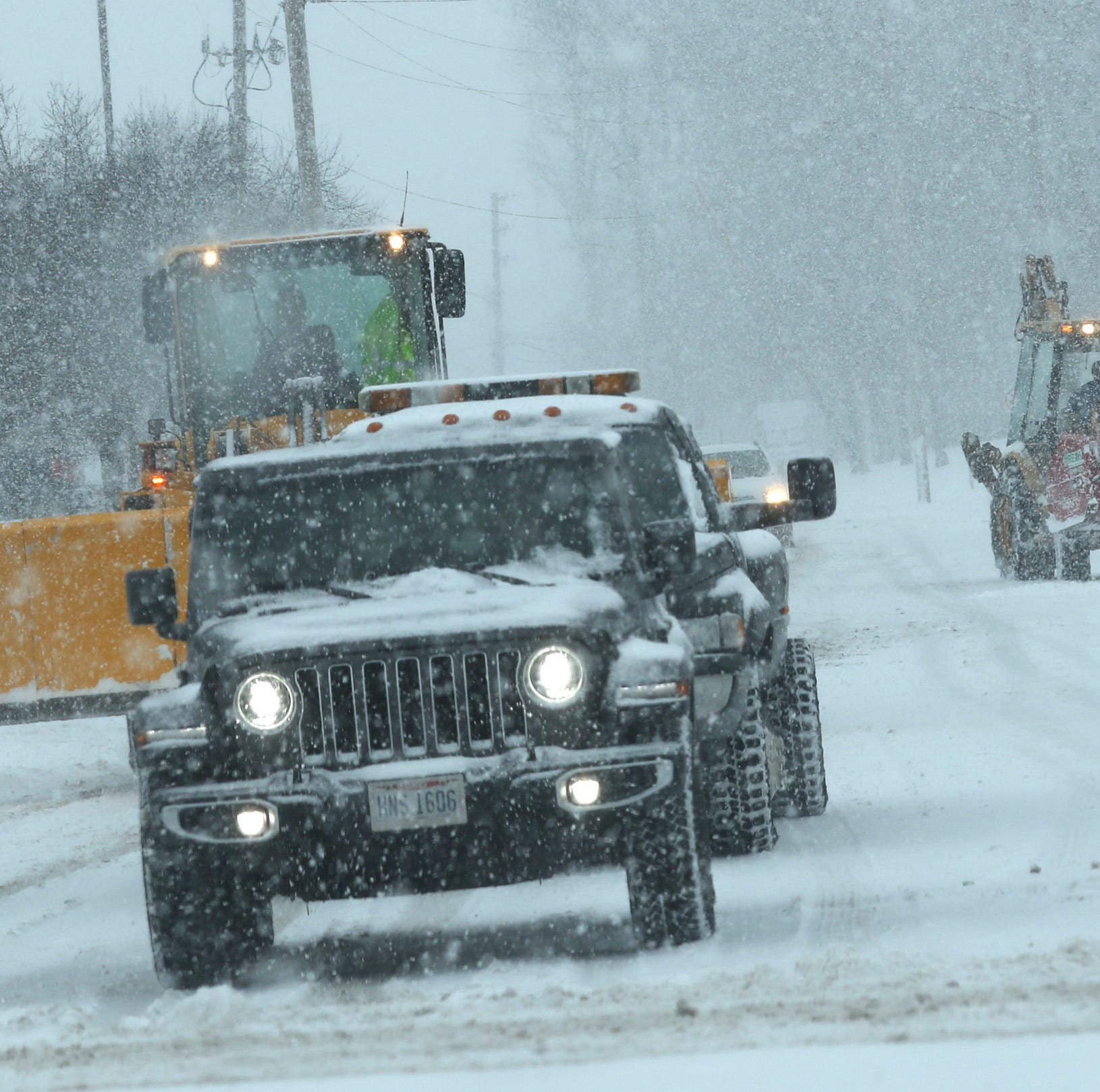 Winter storm Harper hits Richland County