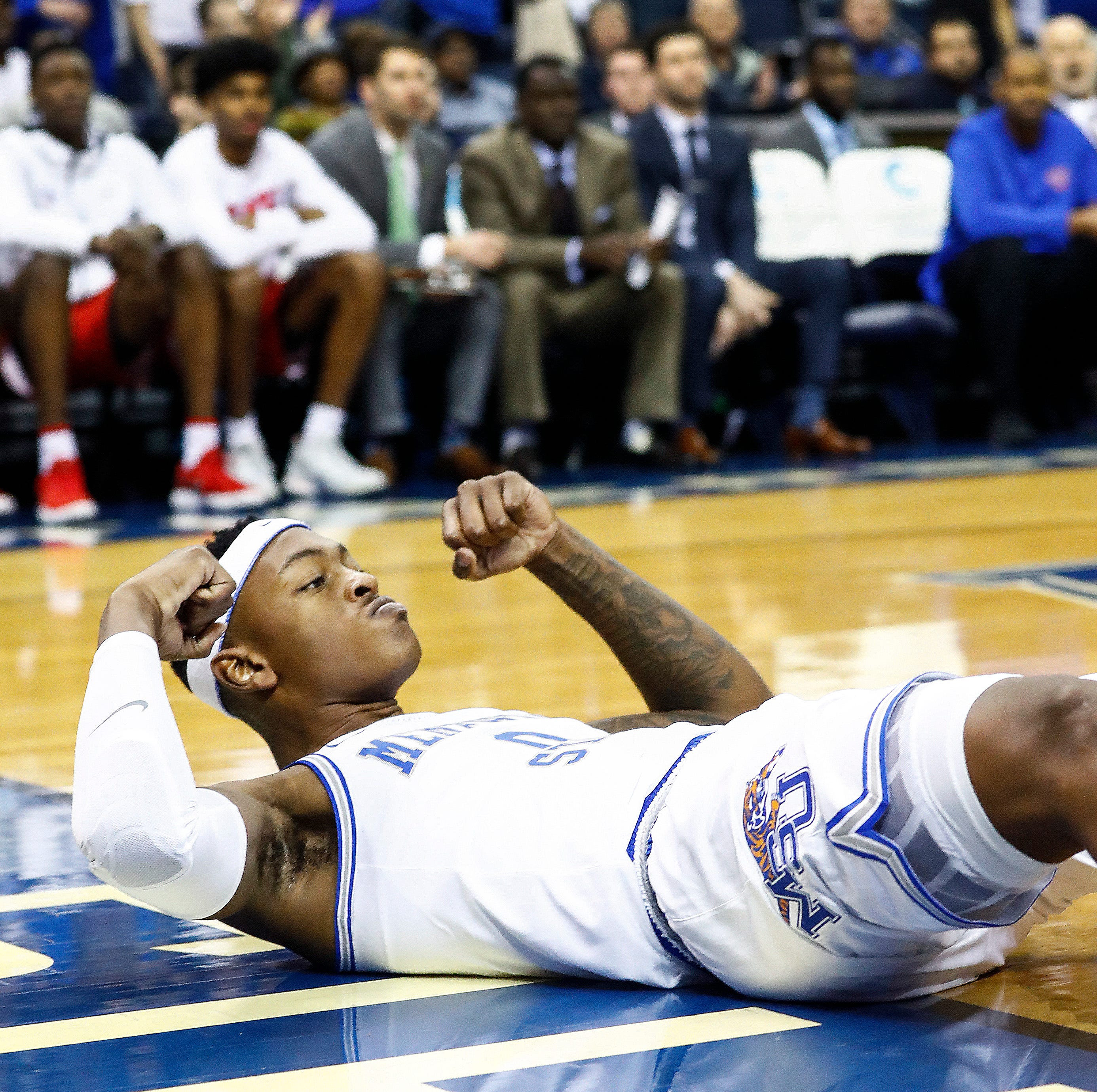 Memphis 83, SMU 61: Tigers rout Mustangs in 'throwback' win