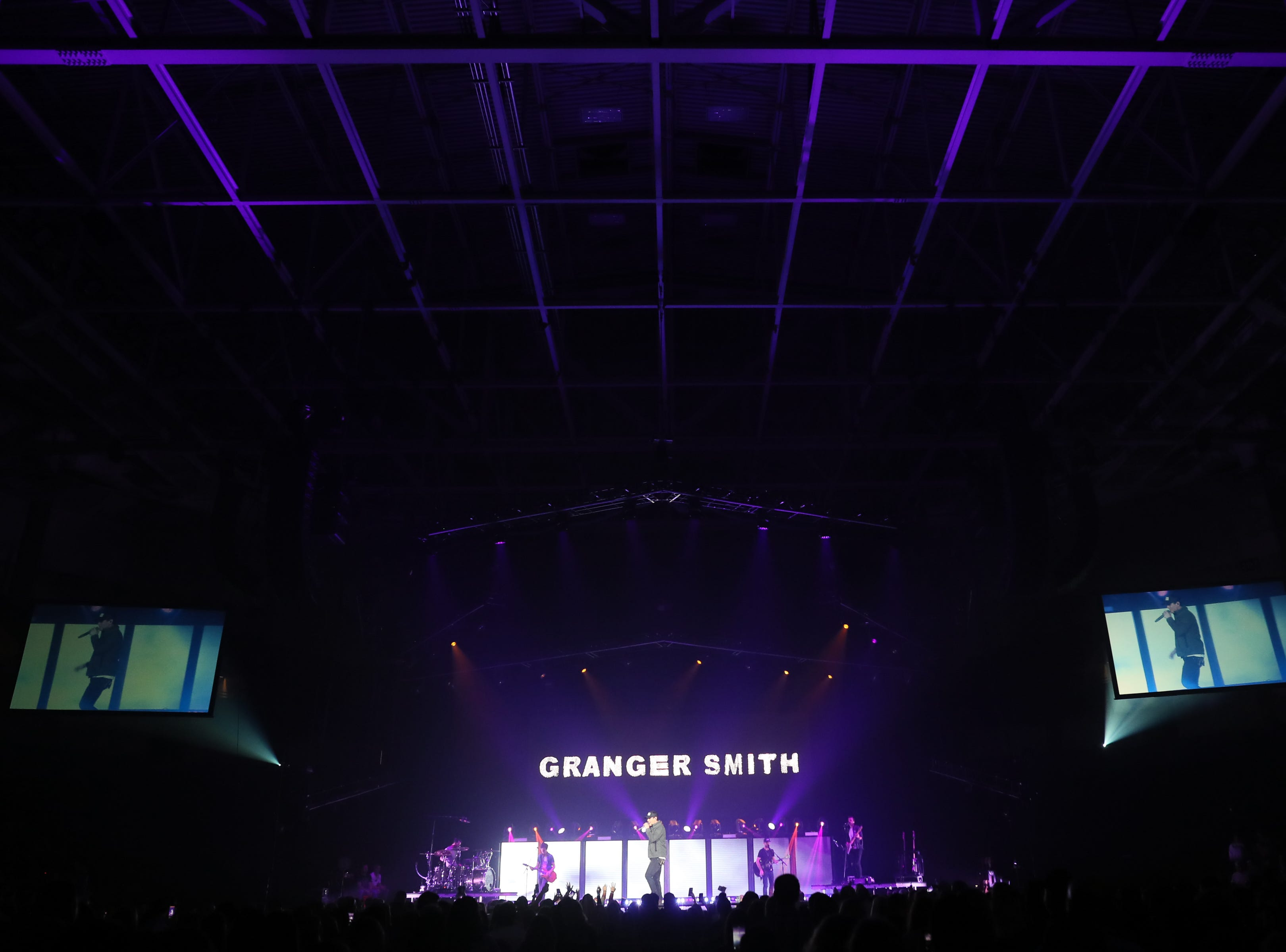 Granger Smith performs at the Landers Center in Southaven, Miss., Friday, Jan. 18, 2019.
