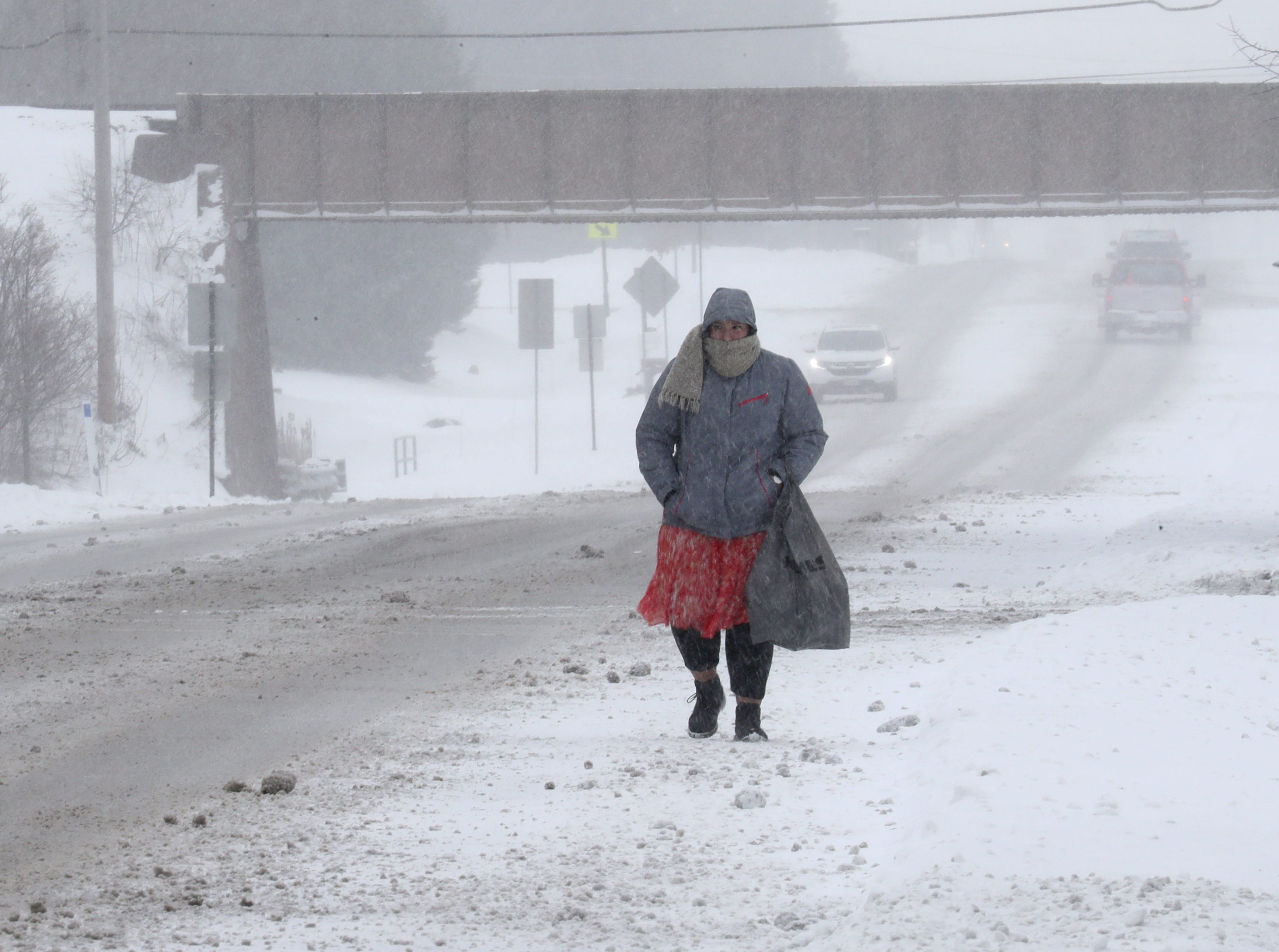 Up to 8 inches of snow forecast in southern Wisconsin Tuesday and Wednesday