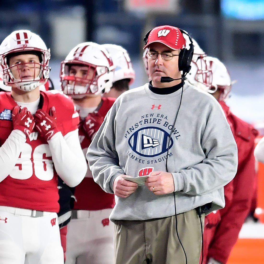 UW extends football coach Paul Chryst's contract through 2024 season