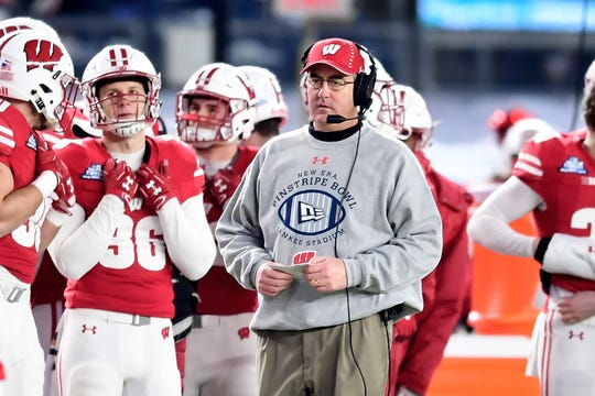 Wisconsin football Paul Chryst had his five-year contract renewed through the 2024 season on Friday.