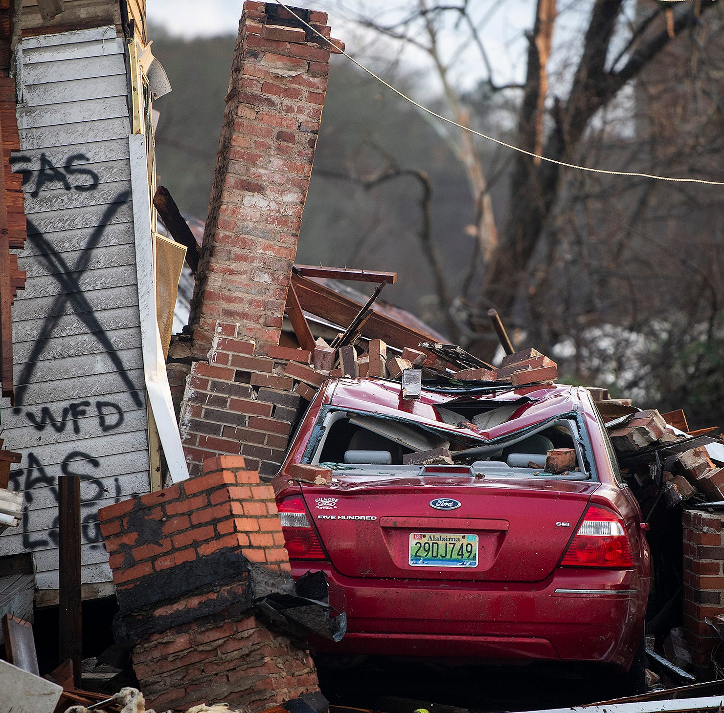 Wetumpka tornado damage: See the destruction caused in Alabama town
