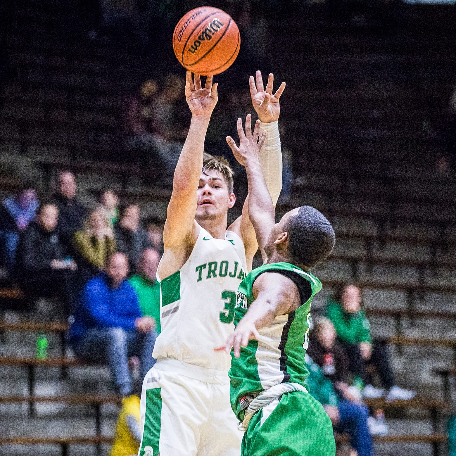 Luke Bumbalough climbing up New Castle all-time scoring list
