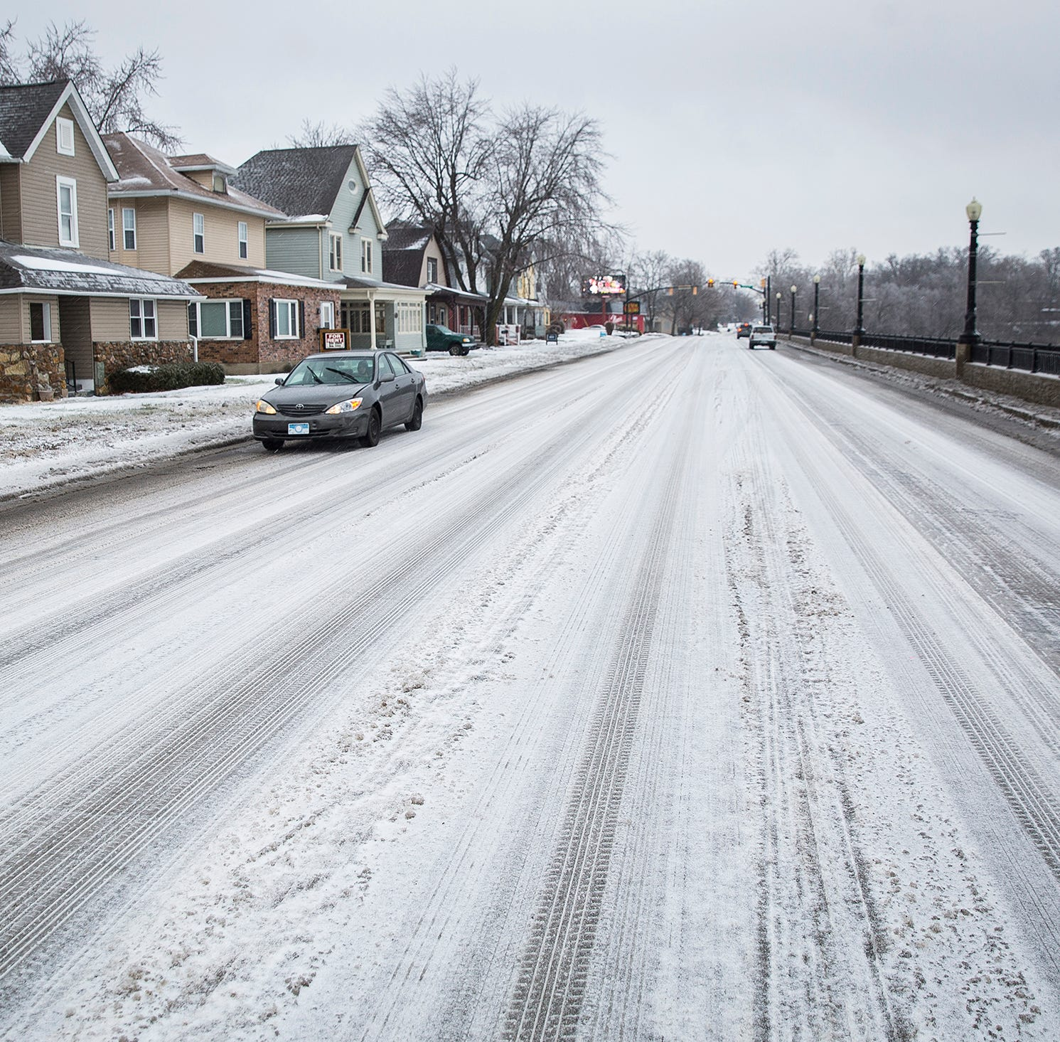 Winter storm: We prepped for snow, but got ice first