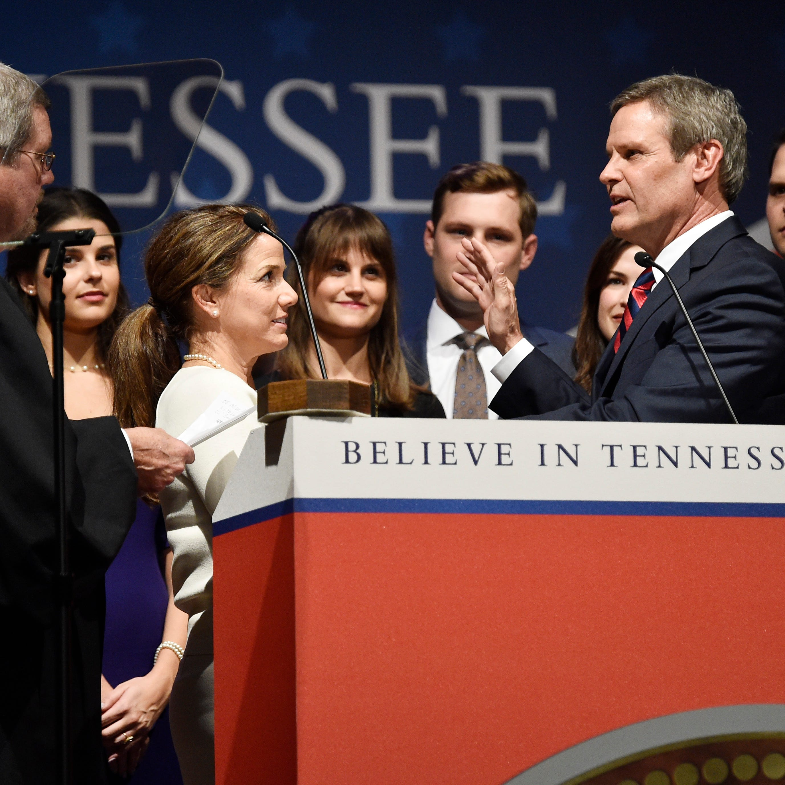 Tennessee inauguration: Bill Lee sworn in as state's 50th governor