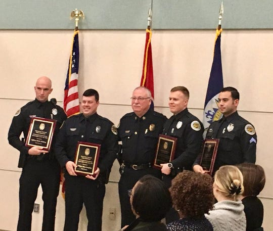 Metro Nashville Police awarded several members for their service in 2018 at a recognition event Friday morning.