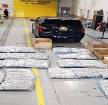 New Mexico State Police report nearly 1,000 pounds of pot seized