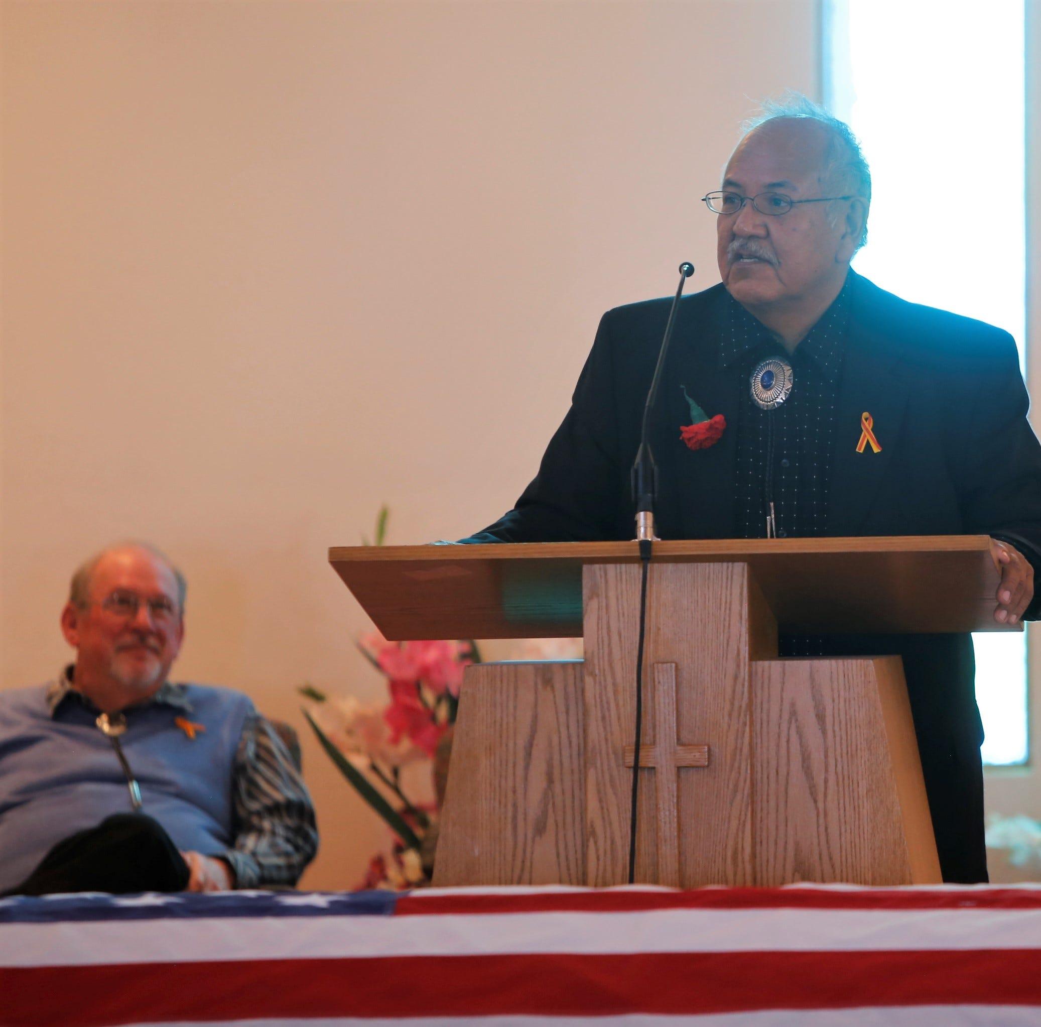 Family, friends remember Navajo Code Talker Alfred K. Newman Sr.