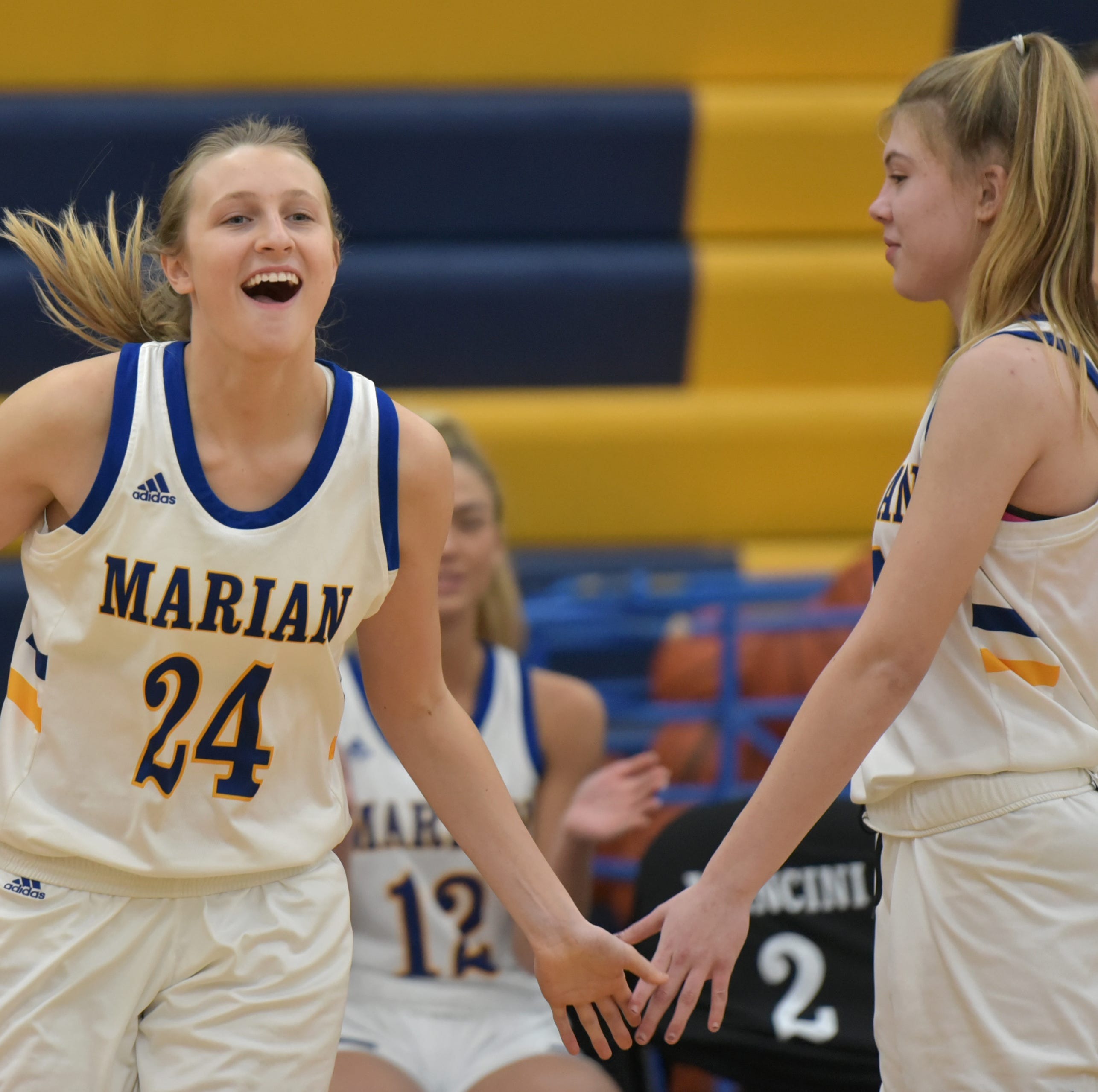 Kennedy sparks Marian to convincing basketball win over rival Mercy