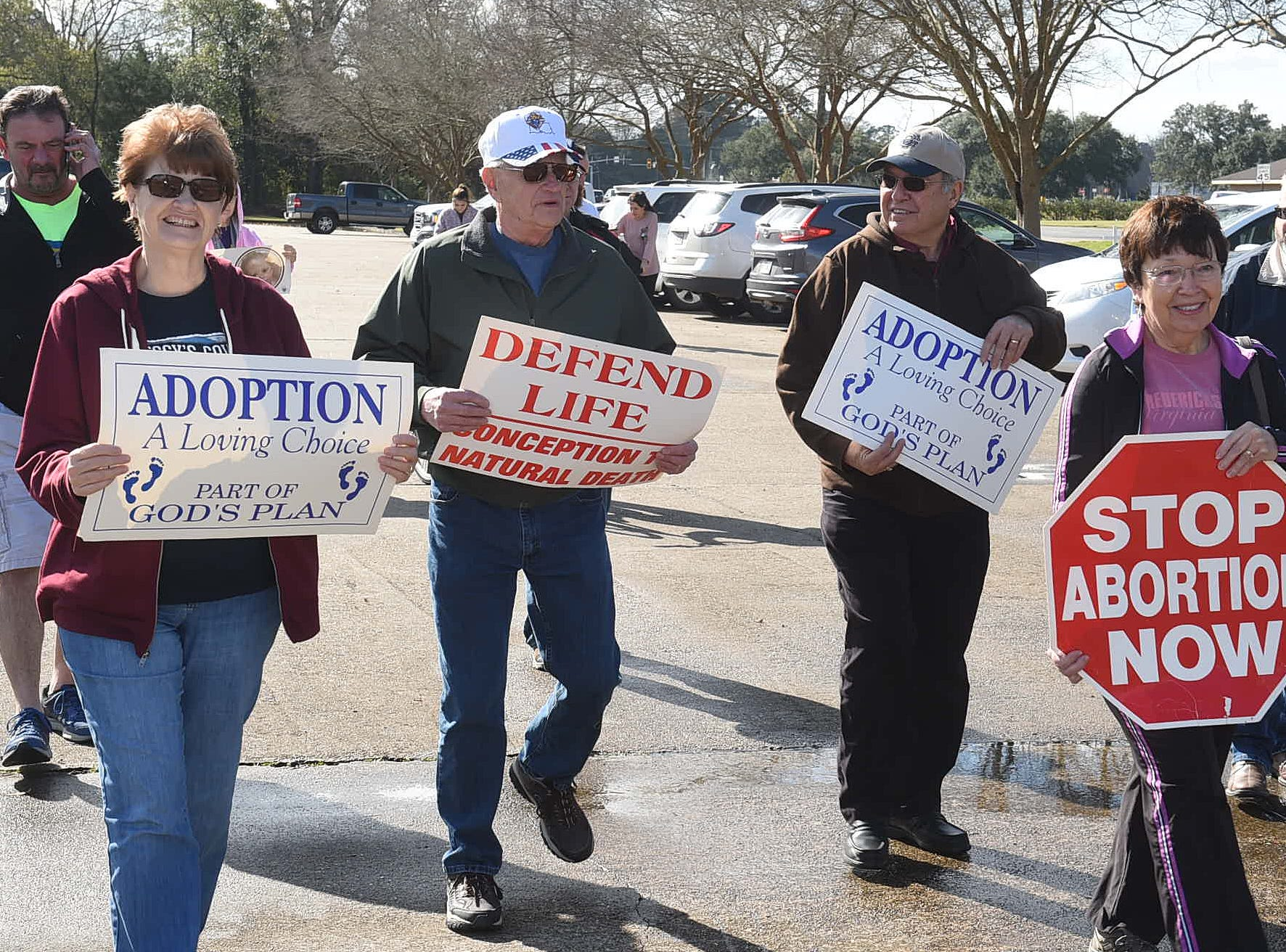 St. Landry Parish Right to Life March